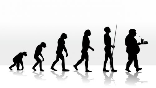 human evolution and devolution through diet