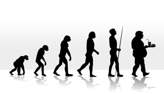 human evolution and devolution through diet